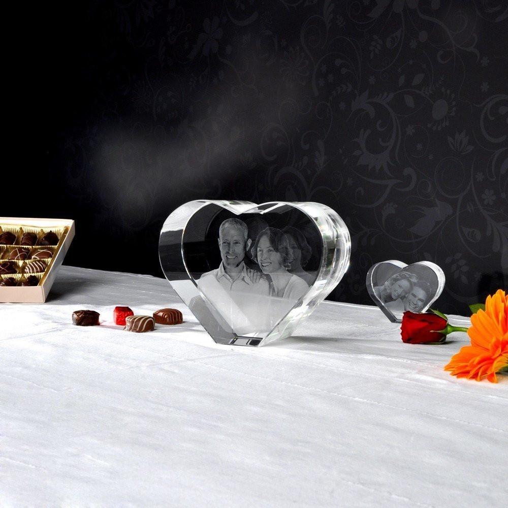 3D Glasfoto Hart XL