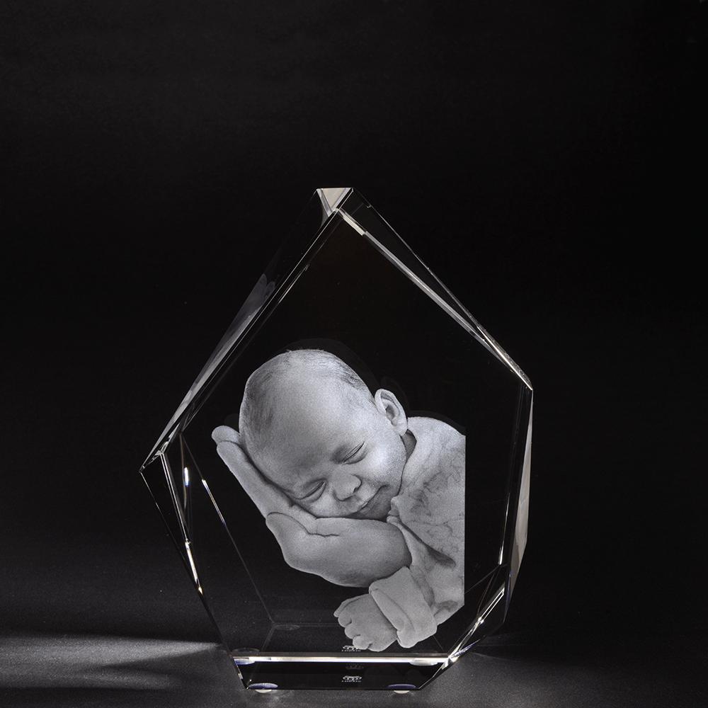 3D Glasfoto IJsberg XL