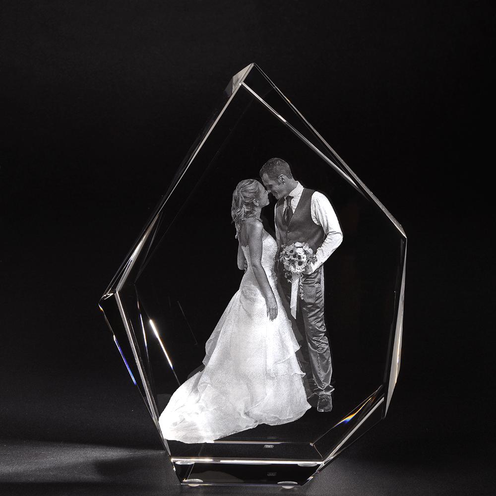 3D Glasfoto IJsberg XXL