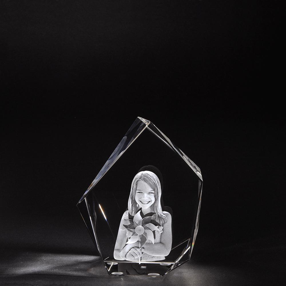 3D Glasfoto IJsberg