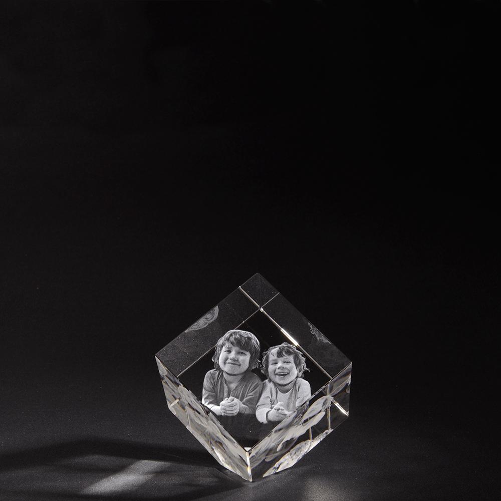 3D Glasfoto Precious M